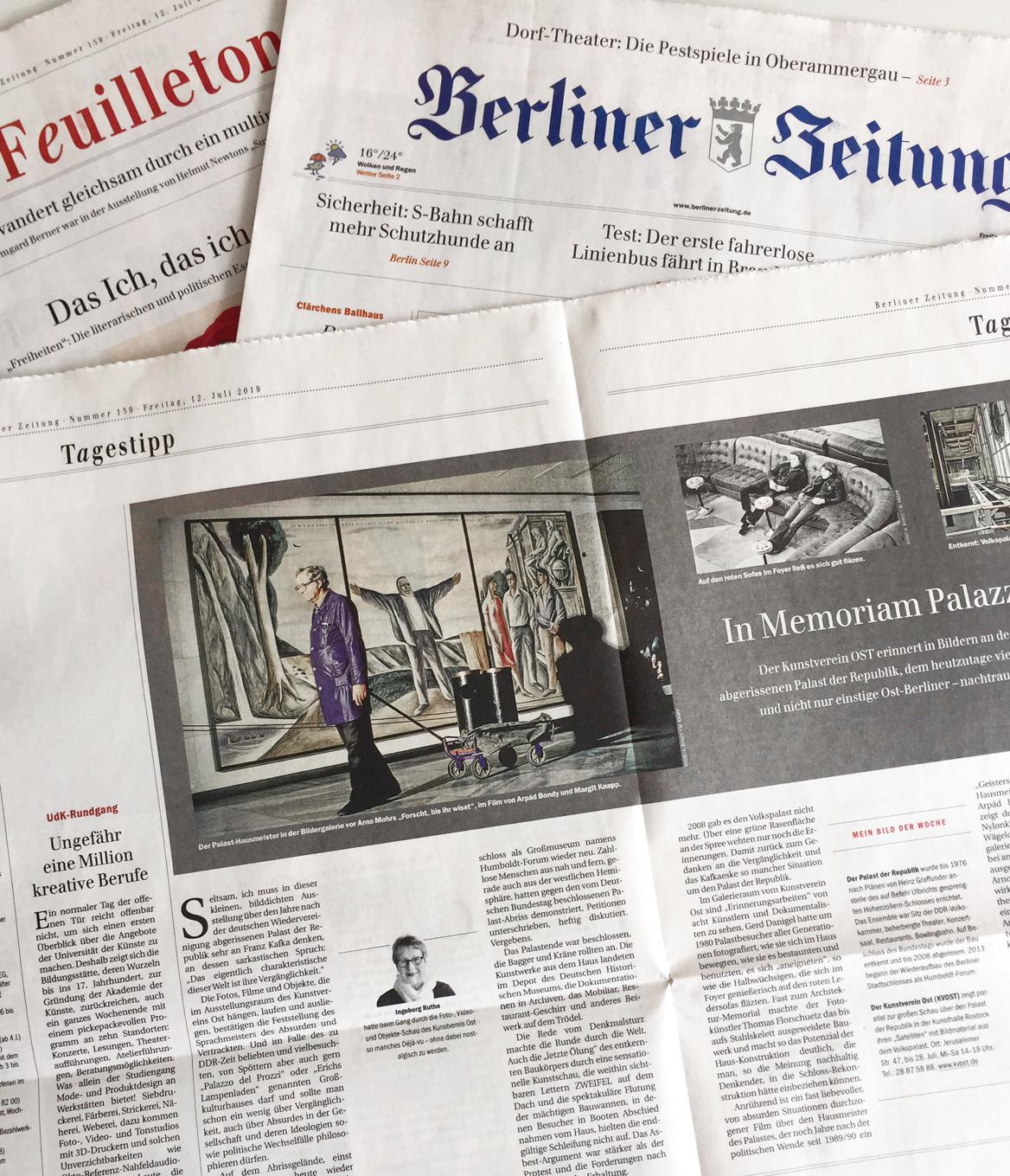 Berliner Zeitung / Feuilleton