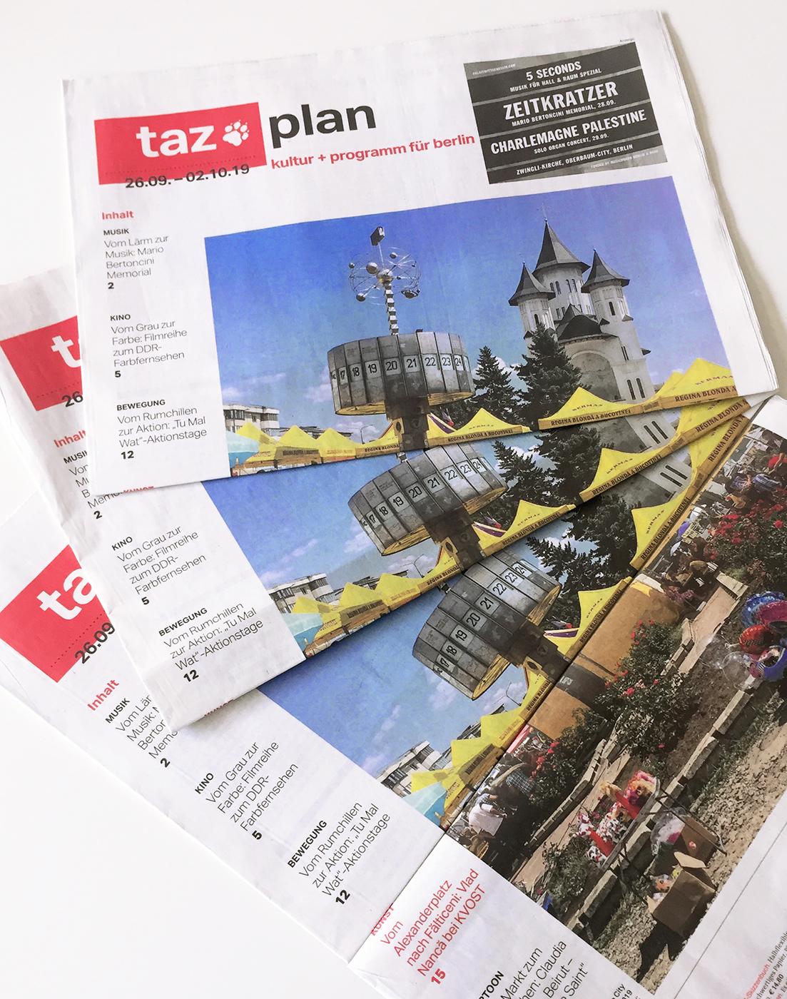 taz plan / culture and program / Berlin