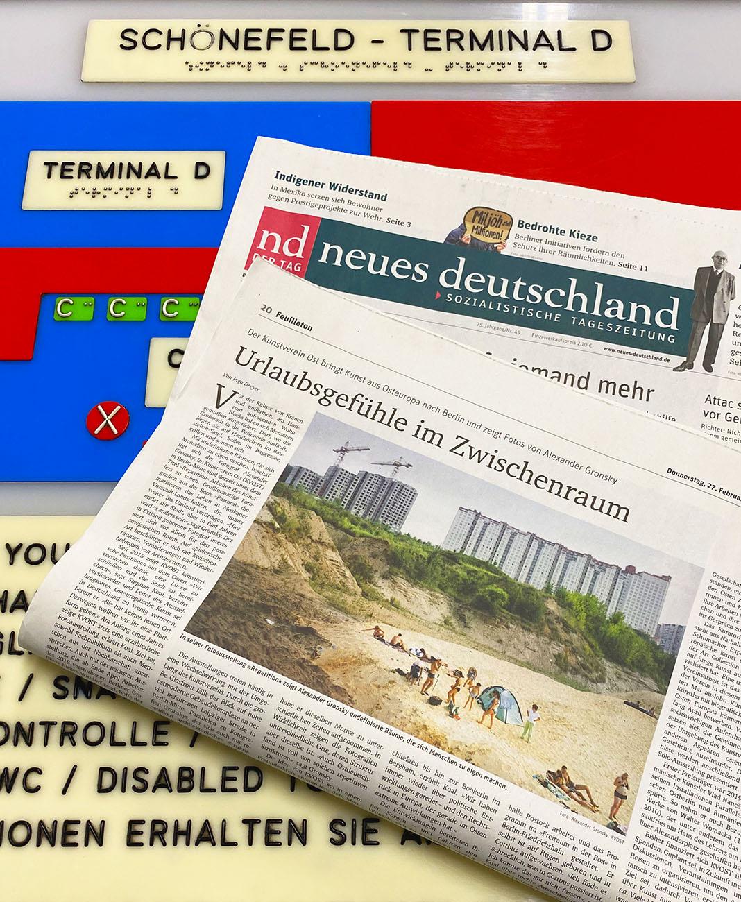 Neues Deutschland / Feuilleton