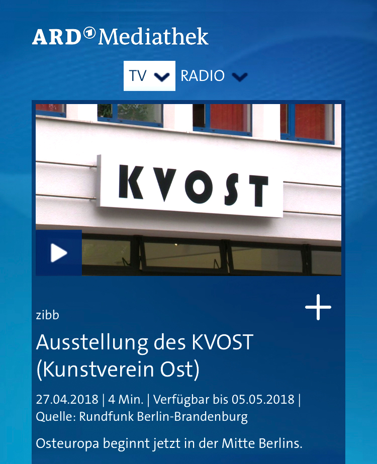 KVOST at ARD / rbb – zibb