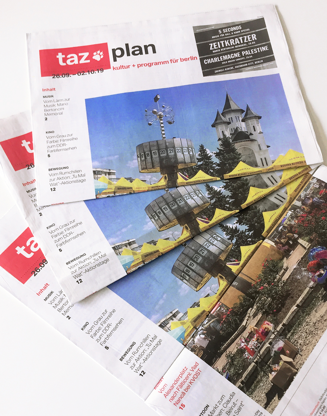 taz plan / Ausstellungsempfehlung / Berlin